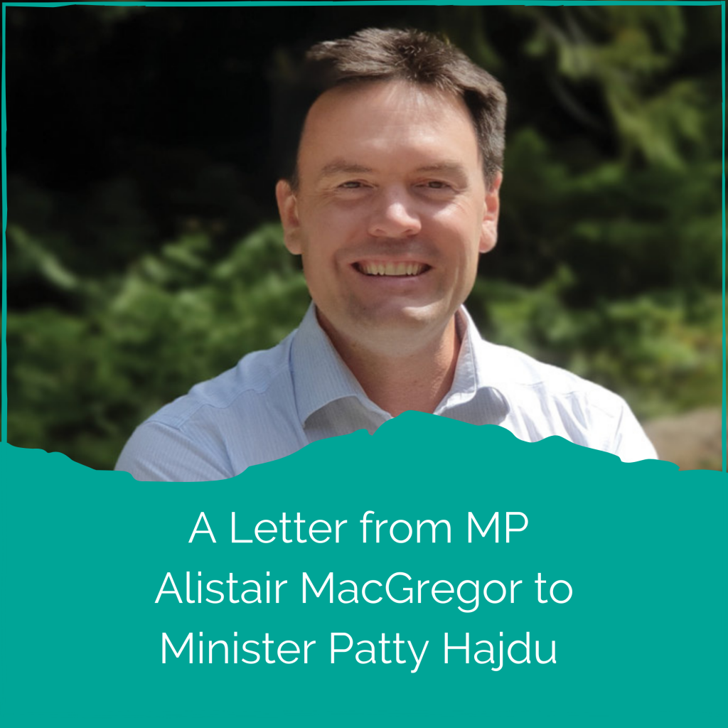 <strong>Therapsil</strong></br>MP Alistair MacGregor Supports Healthcare Practitioner Access to Psilocybin