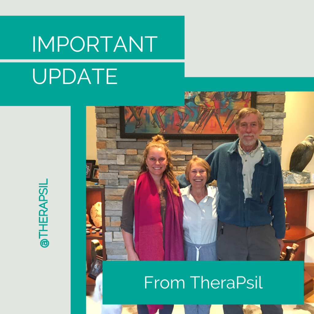 Important Update from TheraPsil