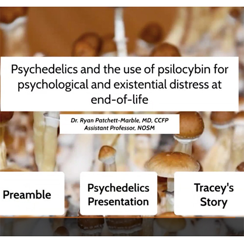 <strong>NOSM</strong></br>Northern Ontario School of Medicine – Psilocybin for End-of-Life Distress