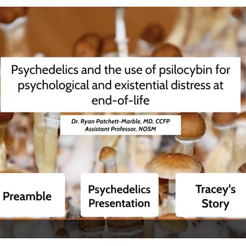 <strong>NOSM</strong></br>Northern Ontario School of Medicine – Psilocybin for End-of-Life Distress