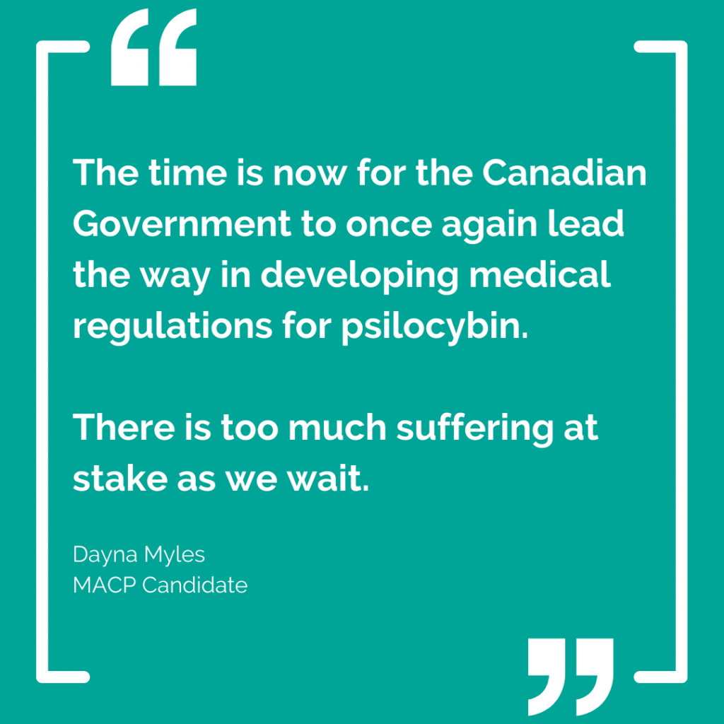"""""""Time is of the essence"""" Open Letter to Minister Hajdu from Dayna Myles"""